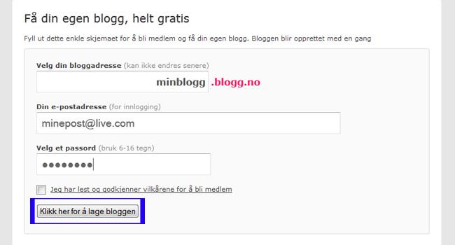 hvordan skrive blogg Skudeneshavn