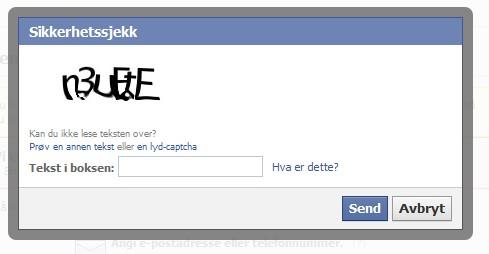 hvordan slette facebook profil