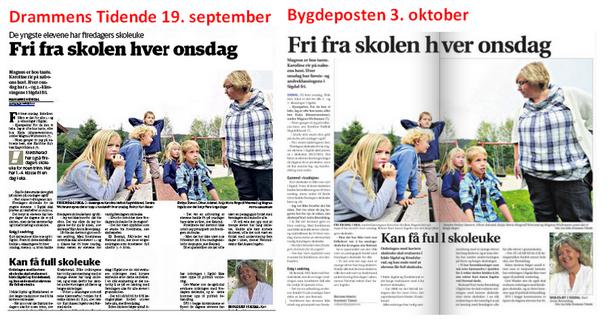 Gjenbruk av artikler mellom Bygdeposten og Drammens Tidende - latskap og lureri for abonnentene