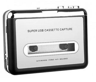 USB til MP3 kassett