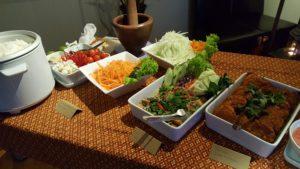 Vegansk mat hos Soi Saam i Drammen