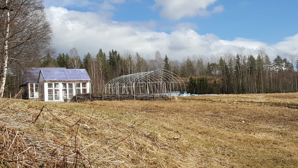 Drivhusene på Evje gård